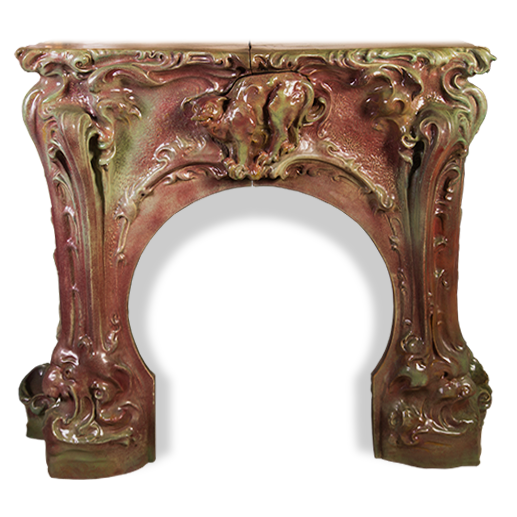 Fireplace Mantels > Ceramic-iron Menu