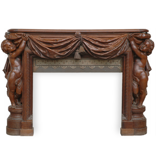 Fireplace Mantels > Wood Menu