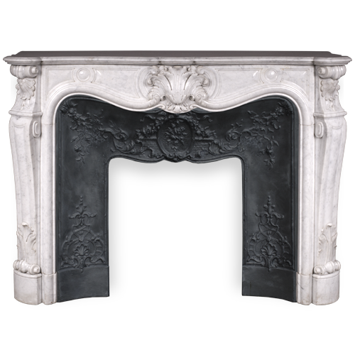 Fireplace Mantels > Marble Menu