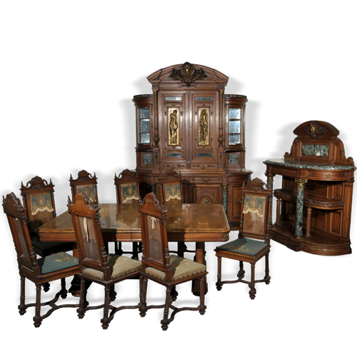 Furniture > Antique Dining Room Sets Menu