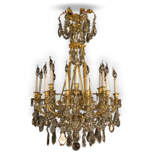 Chandeliers, ceiling lamps