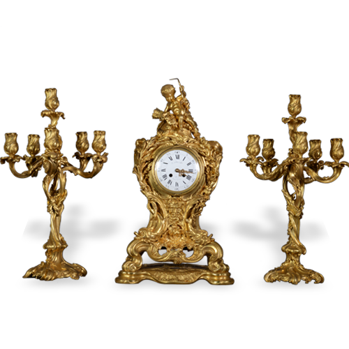 Objets d'art > Clocks, garnitures Menu