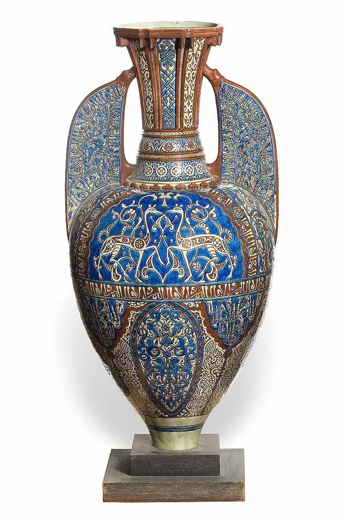 Orientalist polychrome engraving