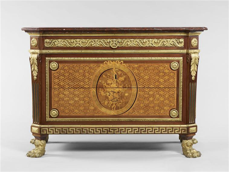 Jean François Leleu 1729 1807 Chest Of Drawers 1772 Louvre Museum Paris Photo C Musée Du Dist Rmn Grand Palais Thierry Ollivier