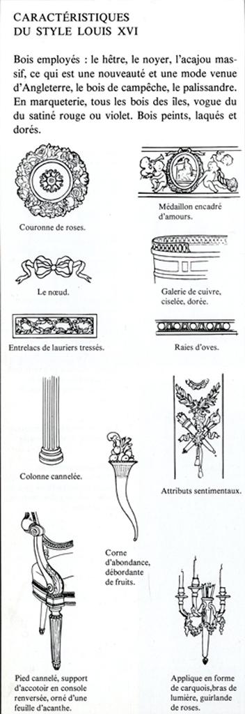 paire colonnes style louis xvi