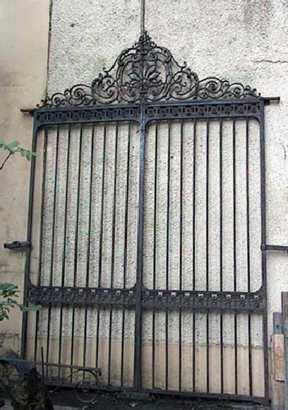 Door Gates In Cast Iron And Wrought Iron Doors