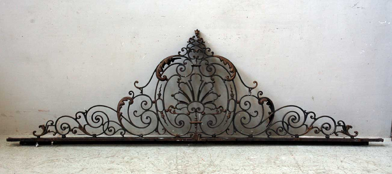 Door gates in cast iron and wrought iron.-1