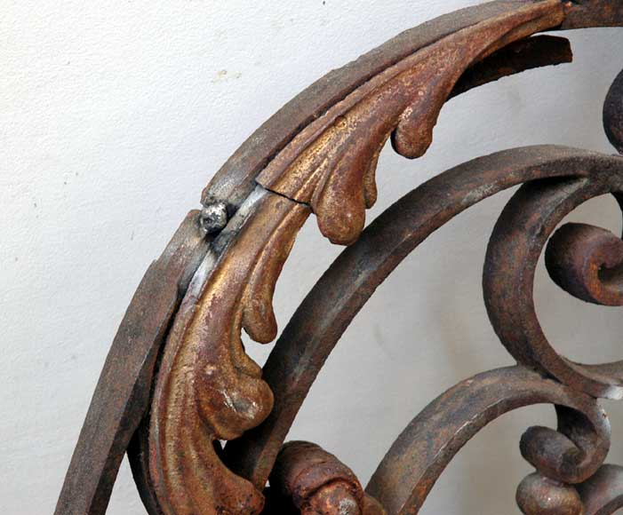 Door gates in cast iron and wrought iron.-2