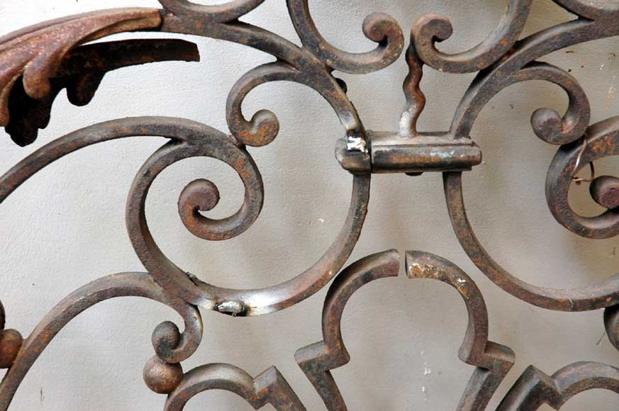 Door gates in cast iron and wrought iron.-3