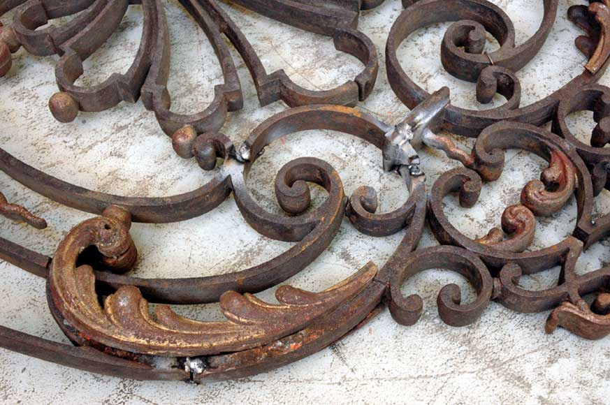 Door gates in cast iron and wrought iron.-11