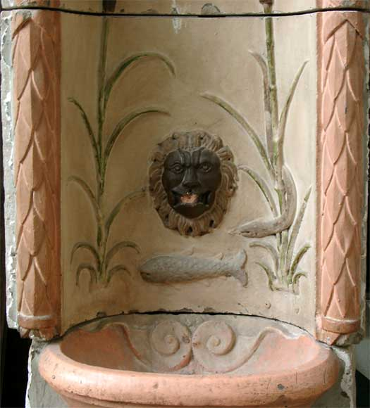 Antique Stone Fountain from Provence 18th century-2