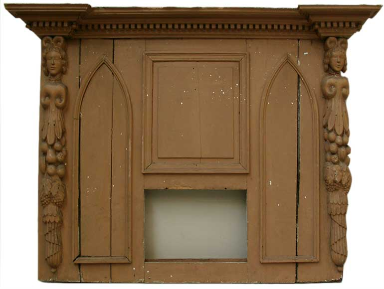 Wooden overmantel, Louis XIII period - Reference 0366
