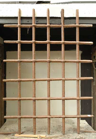 Antique protective grille - Reference 0424