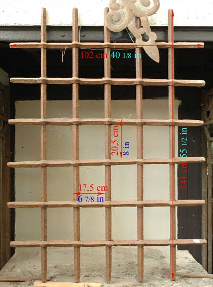 Antique protective grille-6