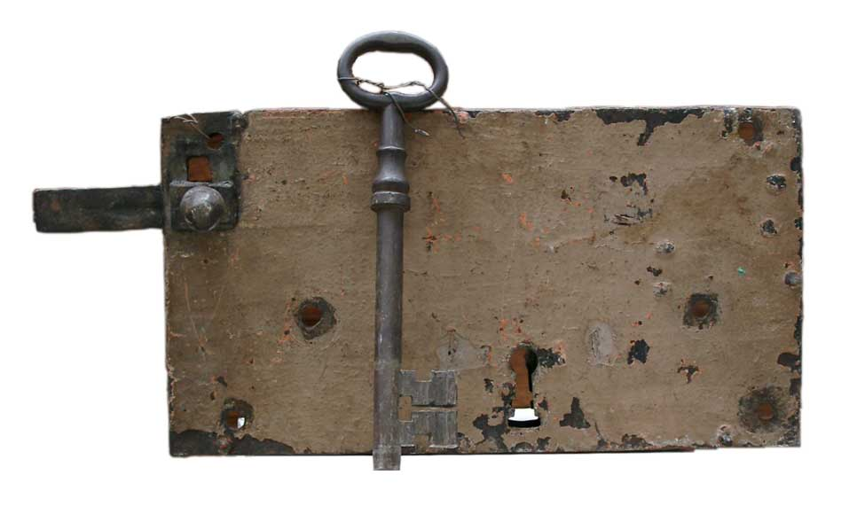 18th century lock. - Reference 0521