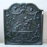 Fireback with chinese decoration.