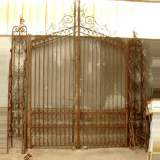 Wrought iron 19th century main gate