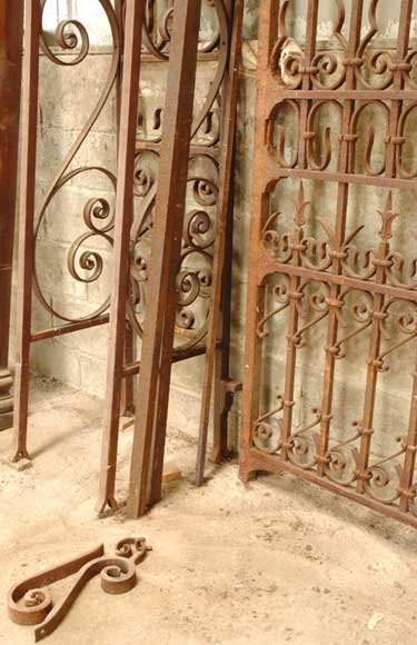 Wrought Iron 19th Century Main Gate Gates And Fences