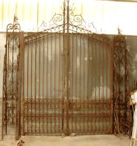 Wrought iron 19th century main gate  - Reference 0676