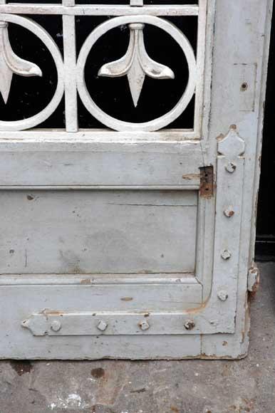 Large Wooden And Wrought Iron Main Door Doors