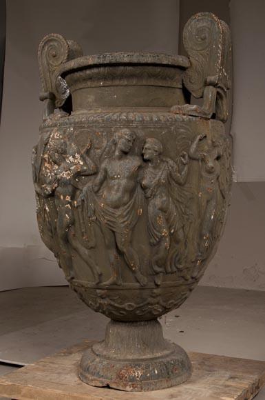 Cast Iron Garden Vase Made After The Townley Vase Model   Garden Ornaments,  Vases, Gardeners, Urns