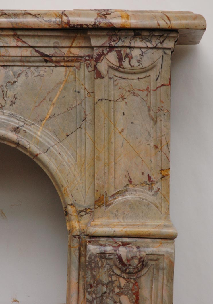 marble fireplace mantel sarrancolin marble marble