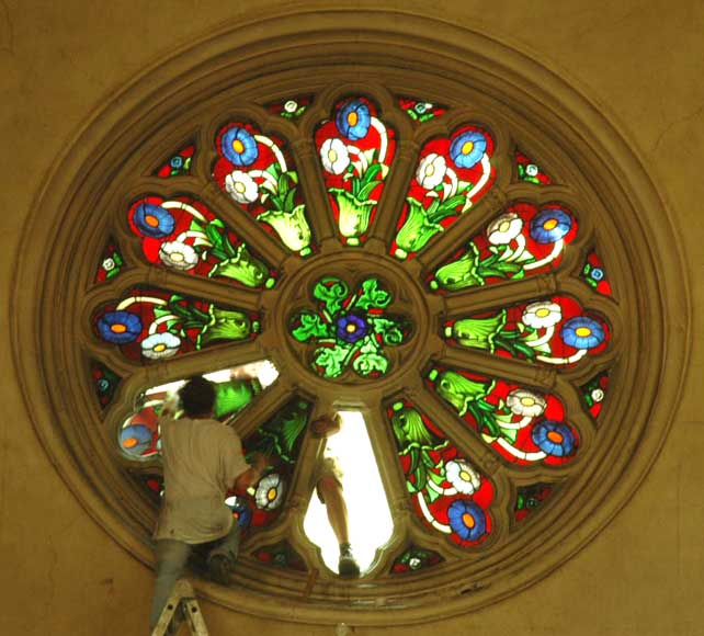 Large rose window - Reference 1034