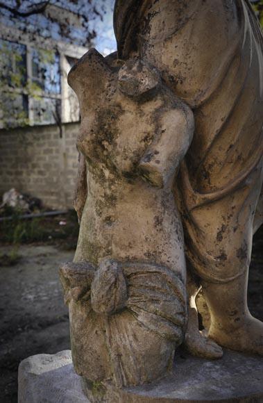 Quot Allegory Of Sculpture Quot Terracotta Statue Signed Quot J D
