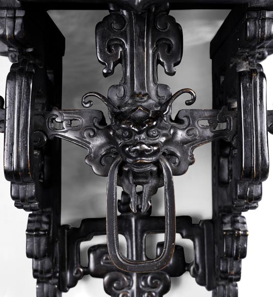 Eugène-Frédéric PIAT (1827-1903) - Pair of Japanese wall brackets, a similar model of which belonged to Sarah Bernhardt-6