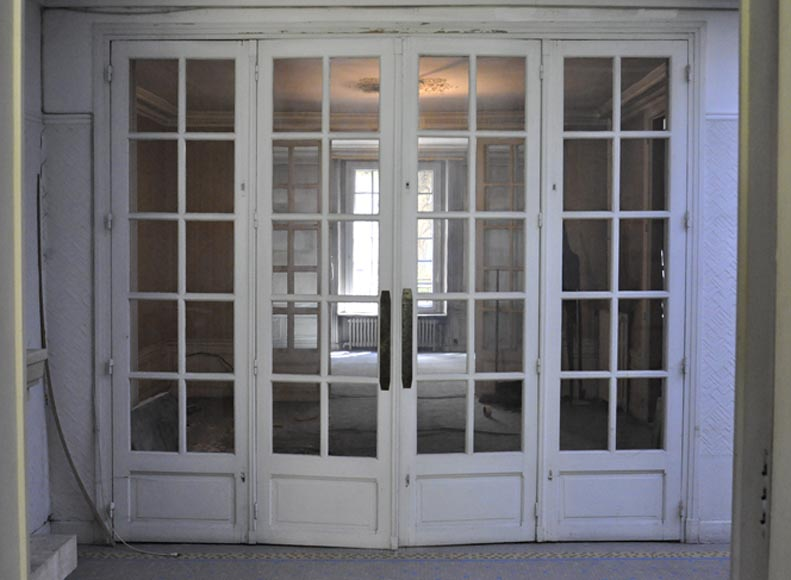 Interior door with four panels 1930 39 s doors for Decoration maison 1930 renove
