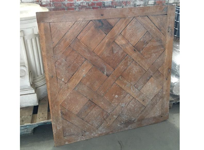 Antique 18th-century Versailles parquet flooring, oak wood - Reference 10825