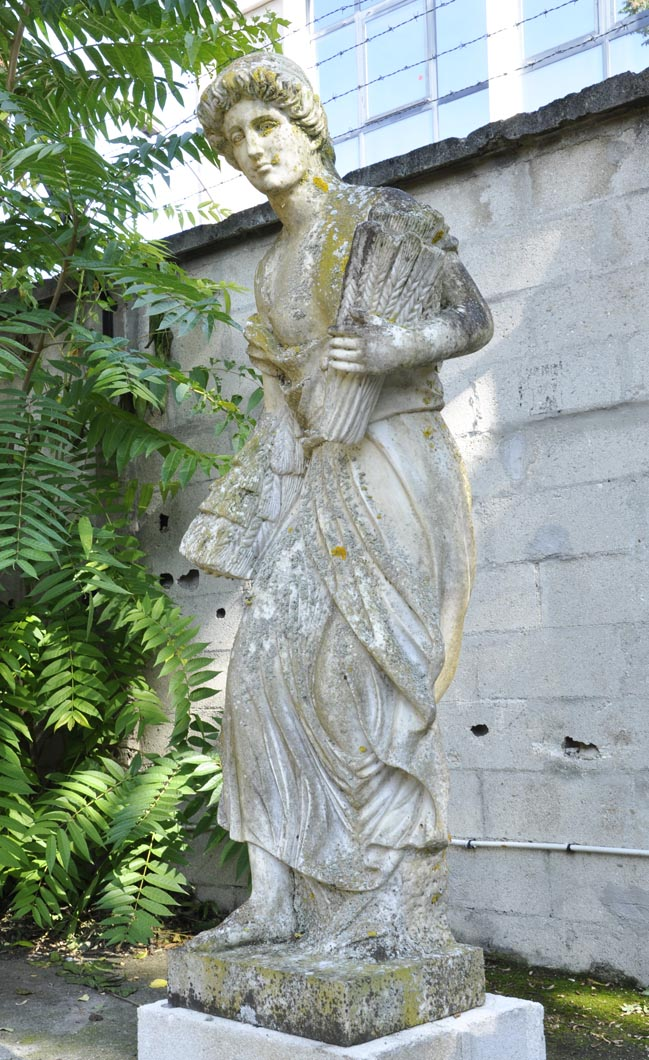 ... The Four Seasons, Antique Garden Statues In Carrara Marble, Italy ...