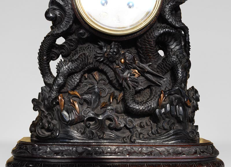 Clock with Chinese zodiac signs-2