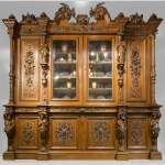 Richly carved Neo-Renaissance style buffet