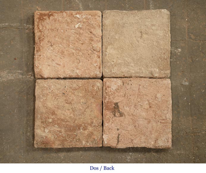 18th century floor, composed of raw clay slabs-4
