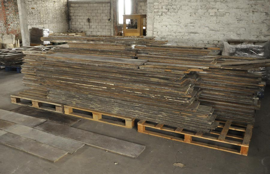 Rare antique straight and wide parquet-3