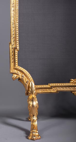 Louis XVI style firescreen with a quiver-4