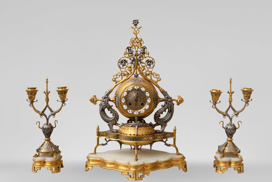 Victor GEOFFROY-DECHAUME (design by) and Auguste-Maximilien DELAFONTAINE (bronze) -