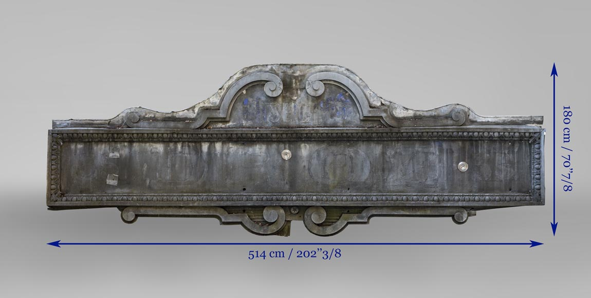 Napoleon III style store front, made out of zinc-7