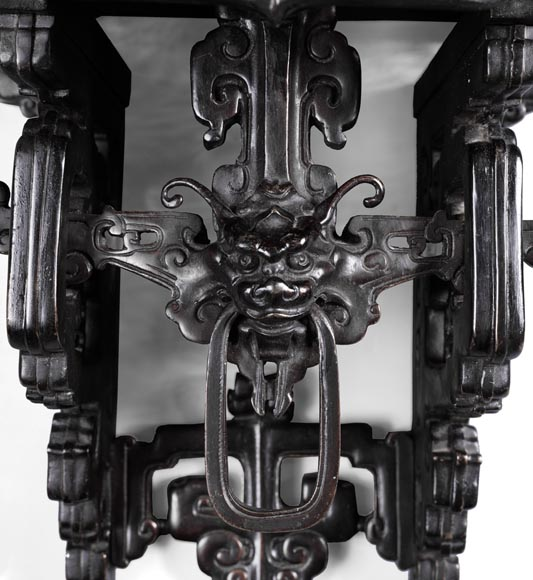 Eugène-Frédéric PIAT (1827-1903) - Pair of Japanese wall brackets, a similar model of which belonged to Sarah Bernhardt-3