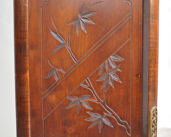 Gabriel VIARDOT (attributed to) - Japanese style cupboard with dragon-7