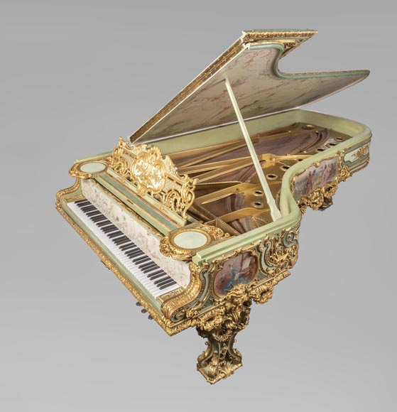 Steinway & Sons – Th. Kammerer (Cuel & cie), A Concert Grand Piano (unique piece) which belonged to Cornelius Vanderbilt II-1