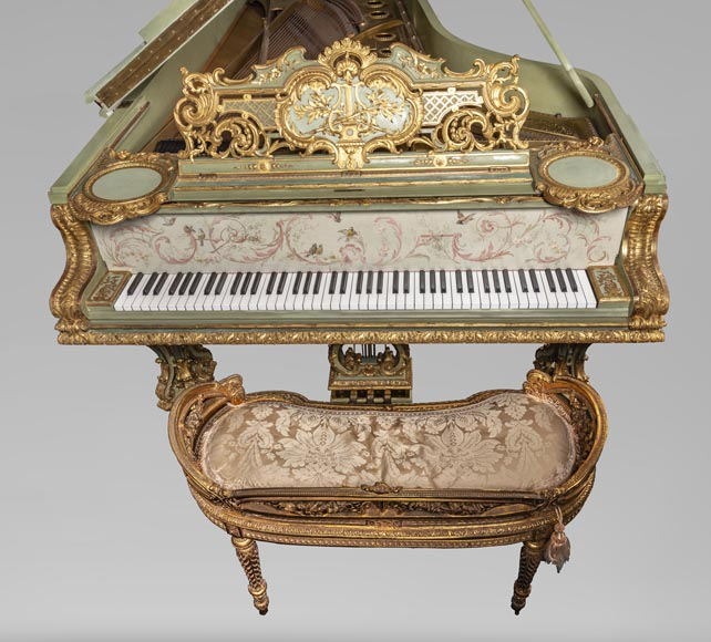 Steinway & Sons – Th. Kammerer (Cuel & cie), A Concert Grand Piano (unique piece) which belonged to Cornelius Vanderbilt II-3