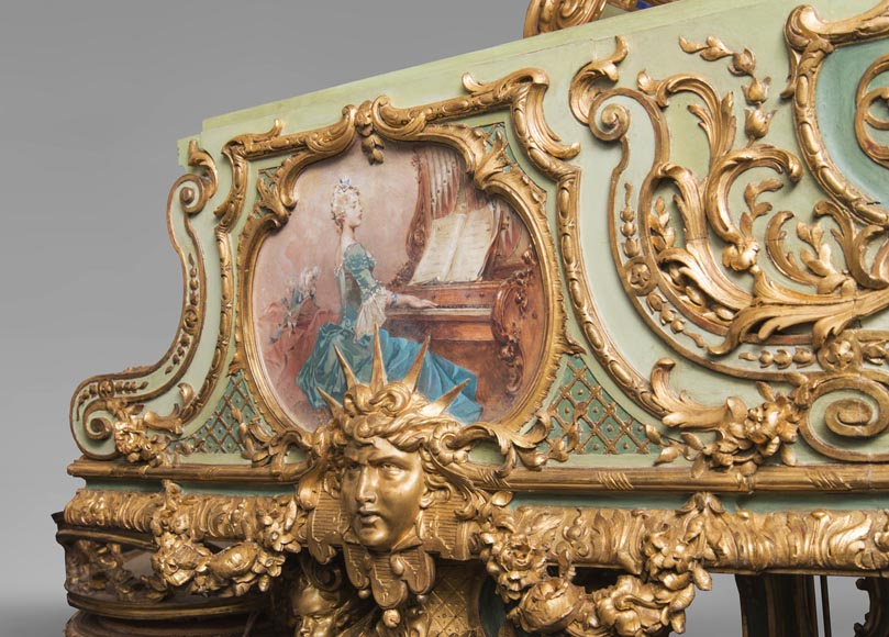 Steinway & Sons – Th. Kammerer (Cuel & cie), A Concert Grand Piano (unique piece) which belonged to Cornelius Vanderbilt II-10