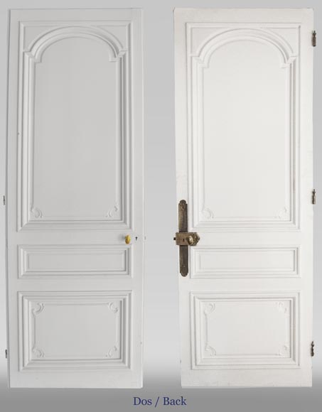 Pair of simple Regency style doors-1