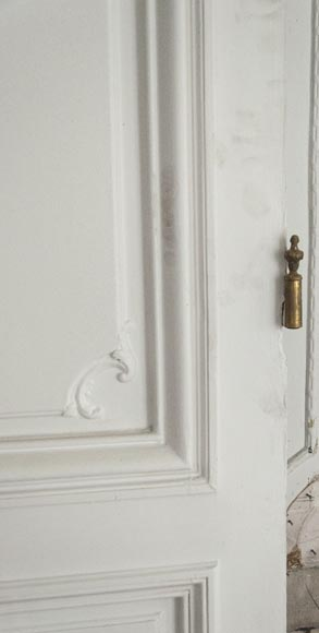 Pair of simple Regency style doors-4