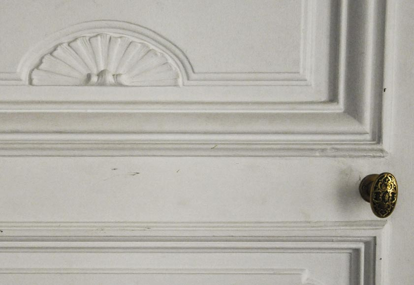 Pair of simple Regency style doors-5
