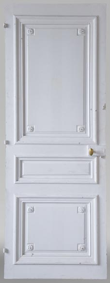 Set of 12 single doors in the Regency style-1