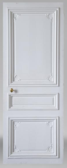 Set of 12 single doors in the Regency style-4