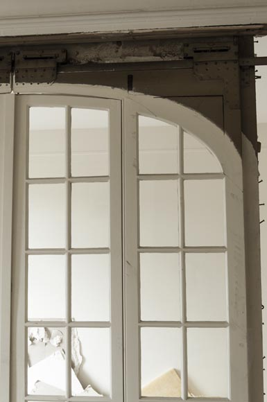 Large antique sliding glass door-1